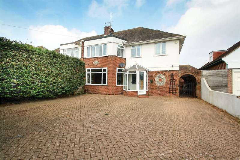 4 Bedrooms Semi Detached House for sale in Goring Road, Goring-By-Sea, Worthing, BN12