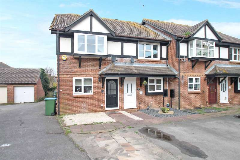 2 Bedrooms End Of Terrace House for sale in Grassmere Close, Littlehampton, West Sussex, BN17