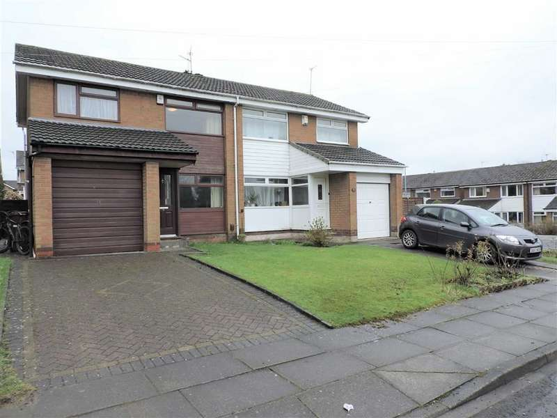 3 Bedrooms Semi Detached House for sale in Red Rose Crescent, Manchester