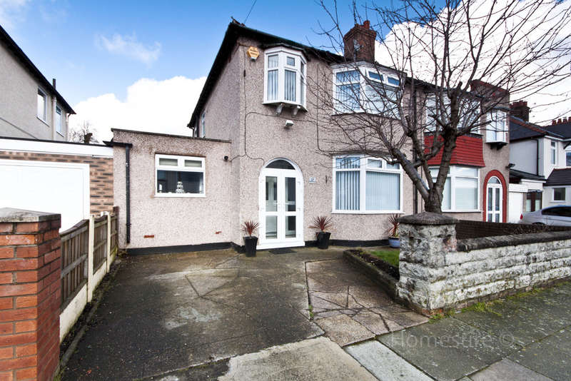 3 Bedrooms Semi Detached House for sale in Pinfold Road, Woolton, Liverpool, L25