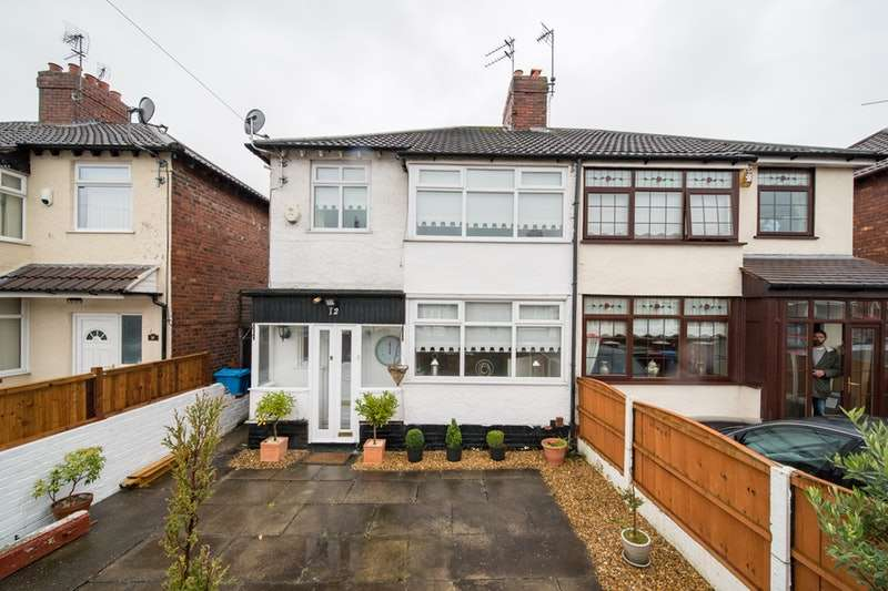 3 Bedrooms Semi Detached House for sale in Howden Drive, Liverpool, Merseyside, L36