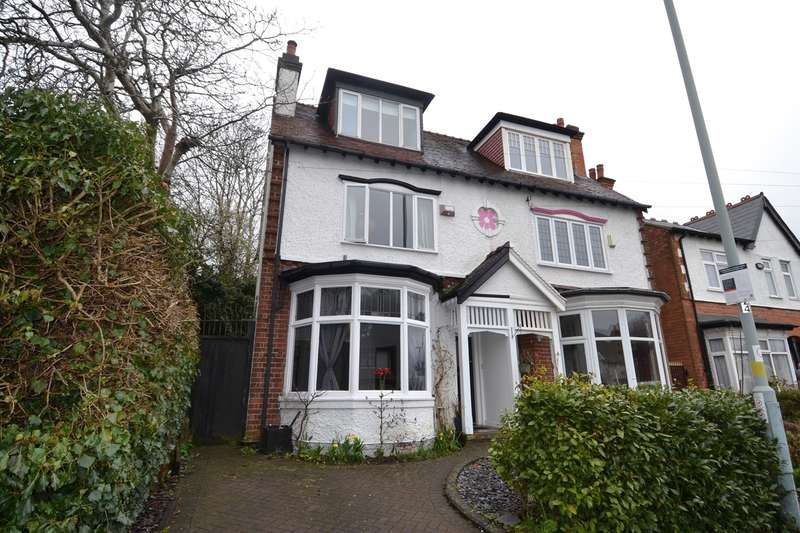 4 Bedrooms Semi Detached House for sale in Springfield Road, Moseley, Birmingham, B13
