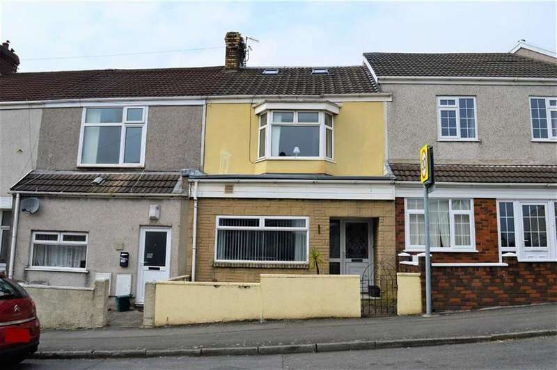 4 Bedrooms Terraced House for sale in Ysgol Street, Swansea, SA1