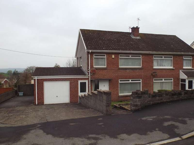 3 Bedrooms Semi Detached House for sale in Brynmorlais, Bryn, Llanelli