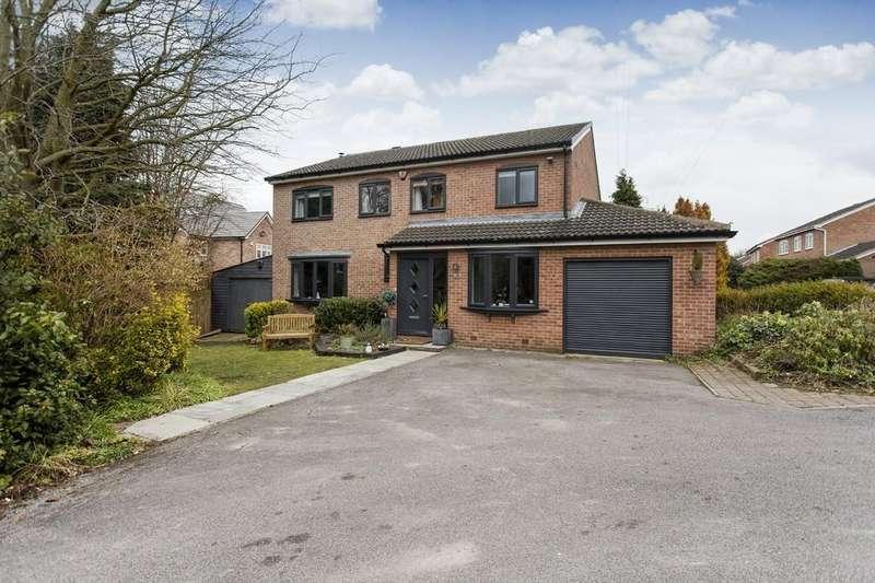 4 Bedrooms Detached House for sale in Woodthorpe Park Drive, Sandal