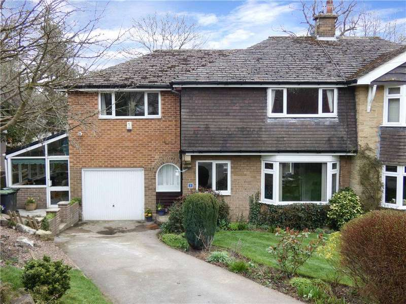 4 Bedrooms Semi Detached House for sale in Langley Crescent, Baildon, Shipley, West Yorkshire