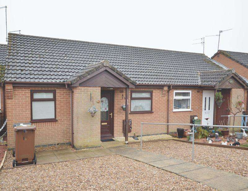 2 Bedrooms Terraced Bungalow for sale in Stadtpeine Close, Corby