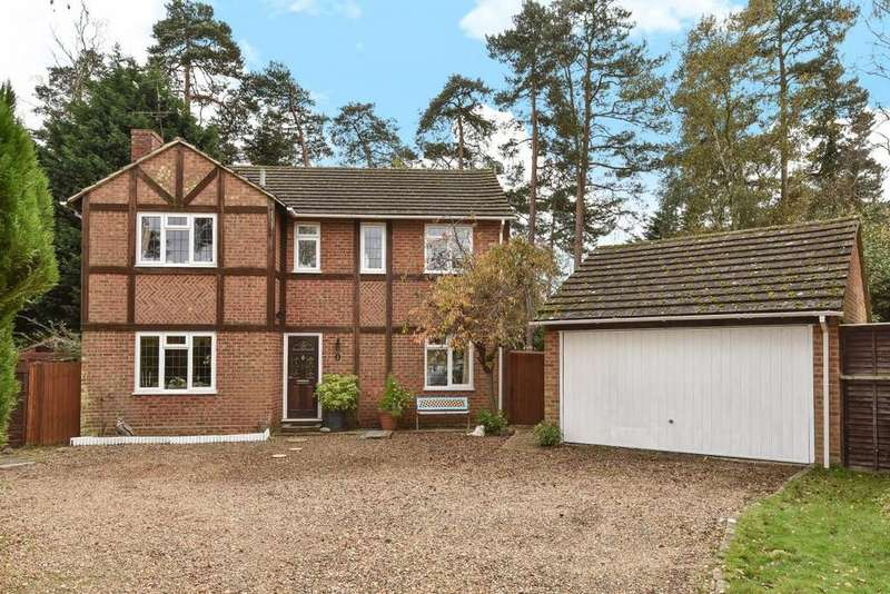 4 Bedrooms Detached House for sale in Hillsborough Park, Camberley, GU15