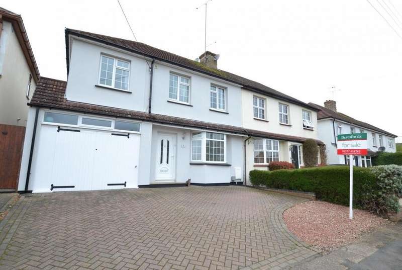 4 Bedrooms Semi Detached House for sale in The Meadow Way, Billericay, Essex, CM11
