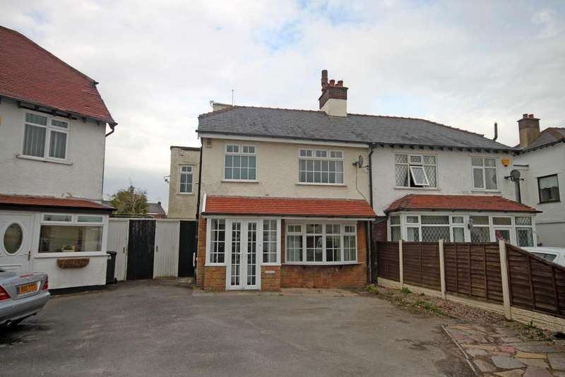 3 Bedrooms Semi Detached House for sale in The Crescent, Southport
