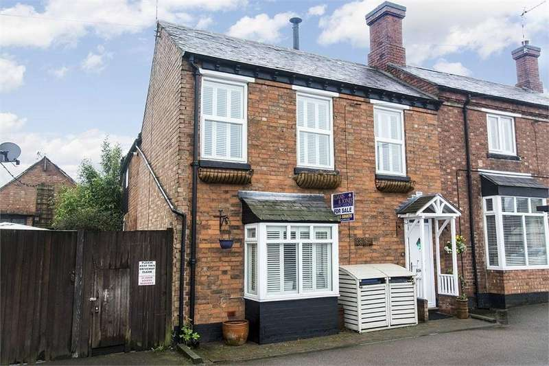 3 Bedrooms Cottage House for sale in Market Street, Lutterworth, Leicestershire
