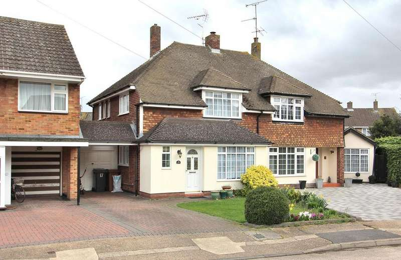 3 Bedrooms Semi Detached House for sale in St. Peters Road, Chelmsford, Essex, CM1