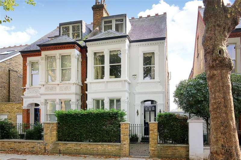 5 Bedrooms Semi Detached House for sale in Beverley Road, Chiswick, London, W4