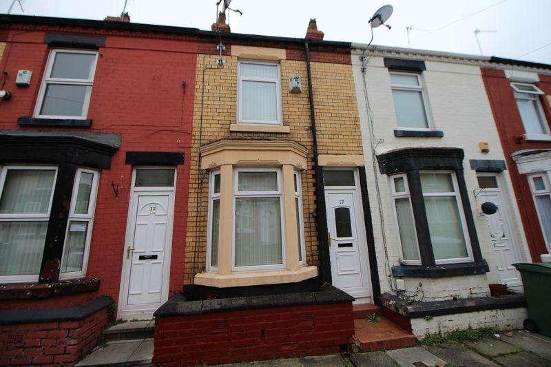 2 Bedrooms Terraced House for sale in Yelverton Road, Birkenhead
