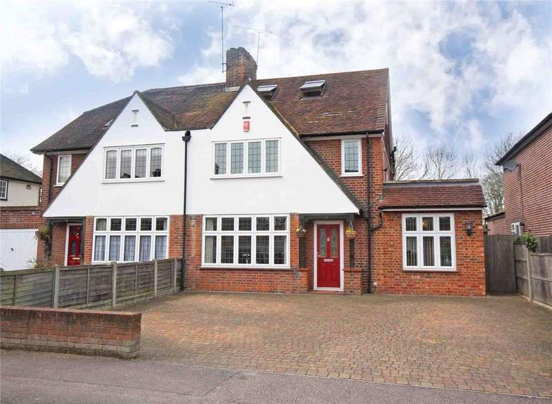 4 Bedrooms Semi Detached House for sale in Endymion Road, Hatfield, Hertfordshire