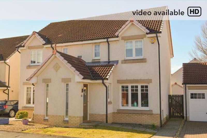 3 Bedrooms Semi Detached House for sale in Benview, Bannockburn, Stirling, FK7 0HJ