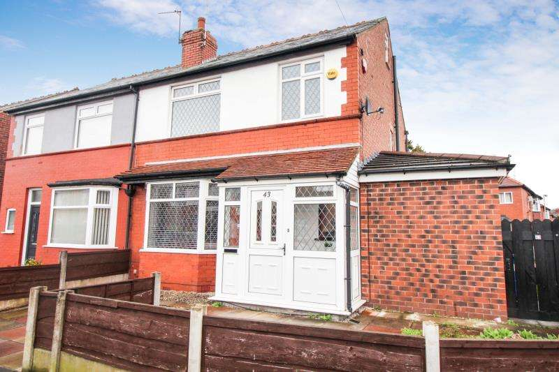 4 Bedrooms Semi Detached House for sale in Elm Road South, Cheadle Heath, SK3 0SR