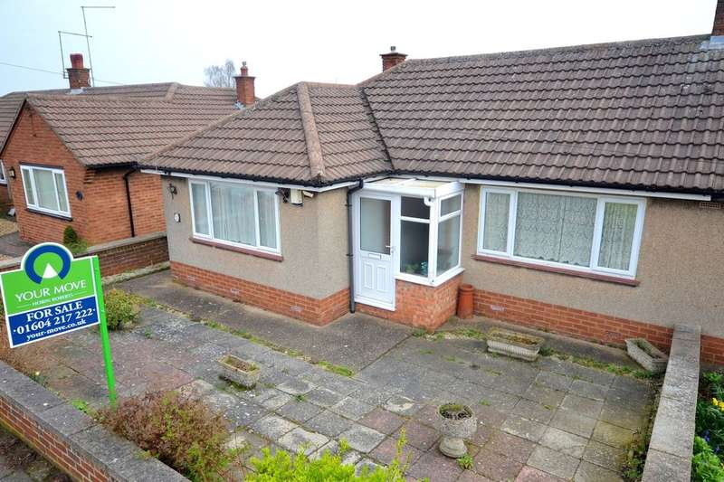2 Bedrooms Semi Detached Bungalow for sale in Collingdale Road, Headlands, Northampton, NN3
