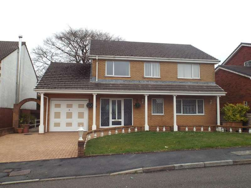 4 Bedrooms Detached House for sale in Ffordd Y Morfa, Cross Hands