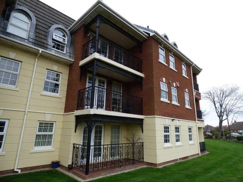 2 Bedrooms Apartment Flat for sale in Sunningdale Court, Beauclerk Road