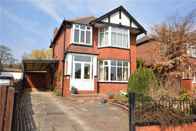 3 Bedrooms Detached House for sale in Montagu Place, Oakwood, Leeds
