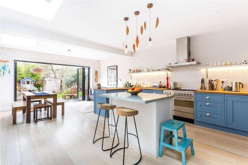 5 Bedrooms Terraced House for sale in Hewitt Road, Harringay, N8
