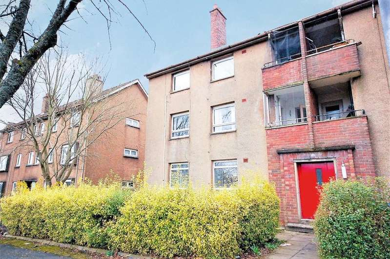 2 Bedrooms Apartment Flat for sale in Park Road, Paisley PA2 6YB