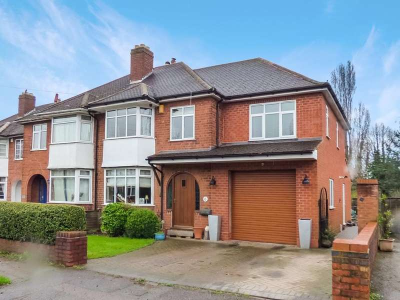4 Bedrooms Semi Detached House for sale in Lyn Avenue, Lichfield