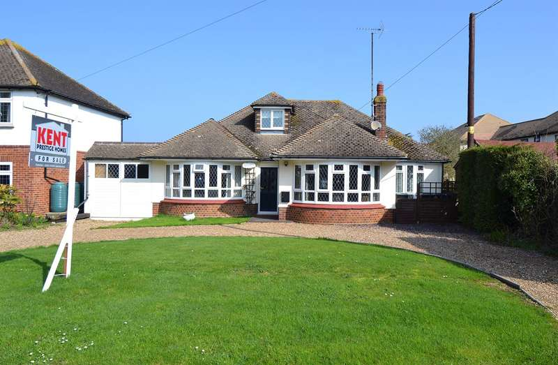 4 Bedrooms Detached Bungalow for sale in Longtye Drive, Chestfield, Whitstable