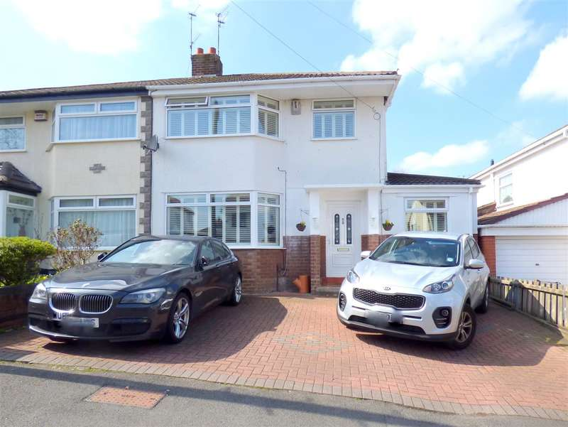 3 Bedrooms Semi Detached House for sale in Pine Tree Road, Huyton, Liverpool