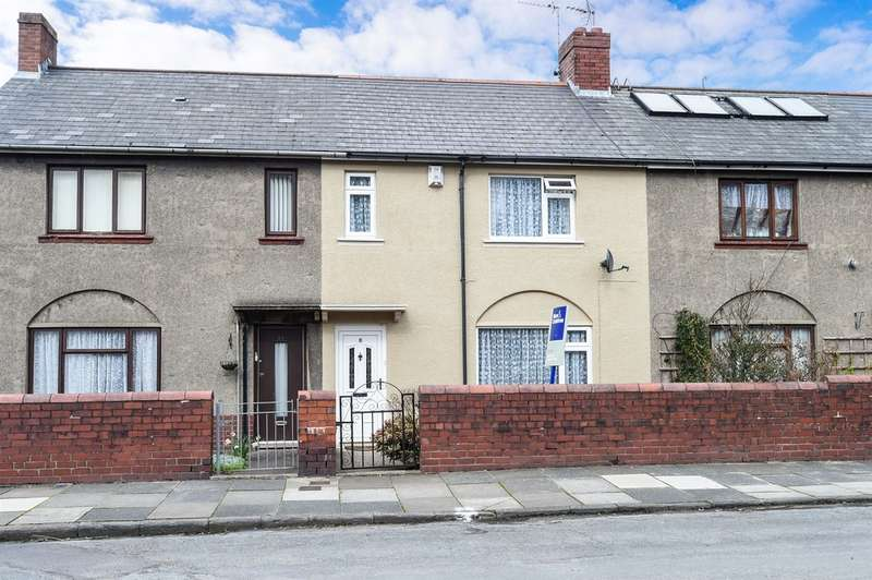 2 Bedrooms Terraced House for sale in Cawnpore Street, Penarth