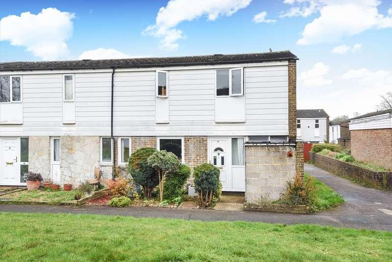 4 Bedrooms End Of Terrace House for sale in Tweedsmuir Close, Basingstoke, RG22