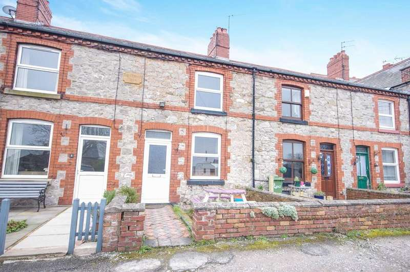 2 Bedrooms Terraced House for sale in Bryn Terrace, Dyserth