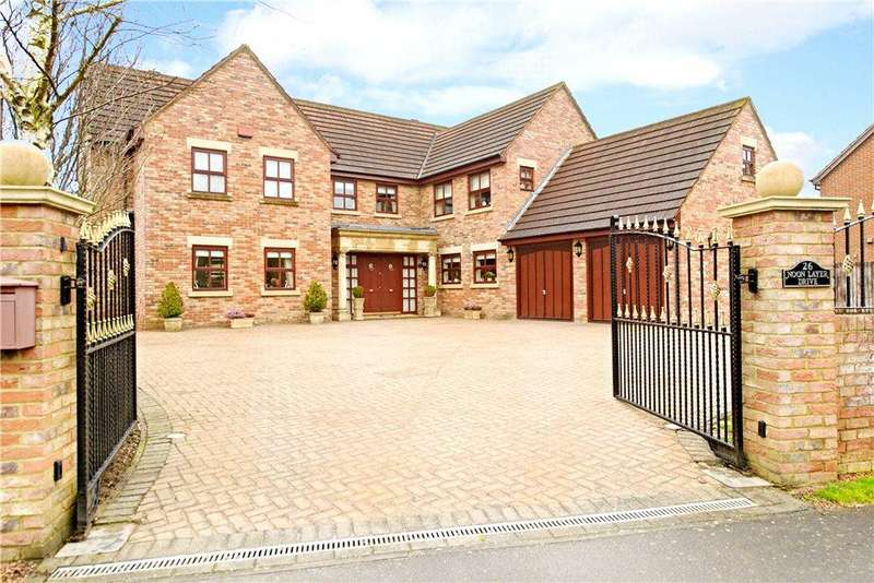 6 Bedrooms Detached House for sale in Noon Layer Drive, Middleton, Milton Keynes, Buckinghamshire