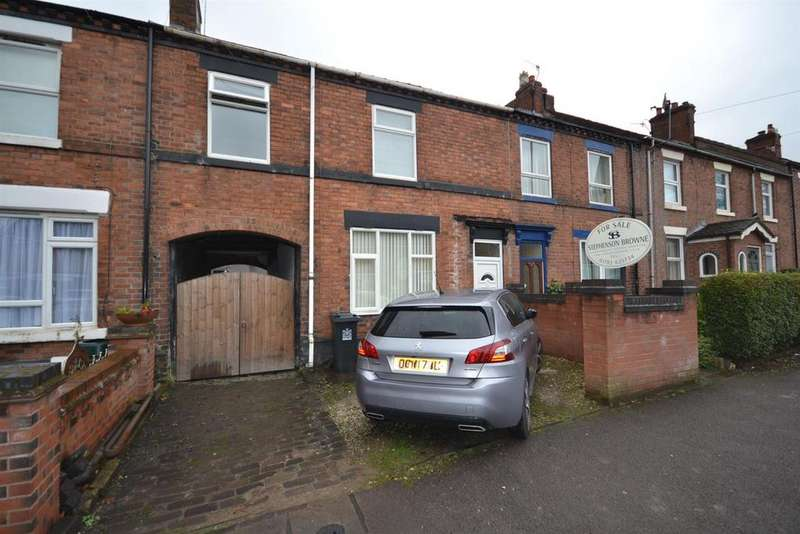 3 Bedrooms Terraced House for sale in Church Street, Silverdale, Newcastle