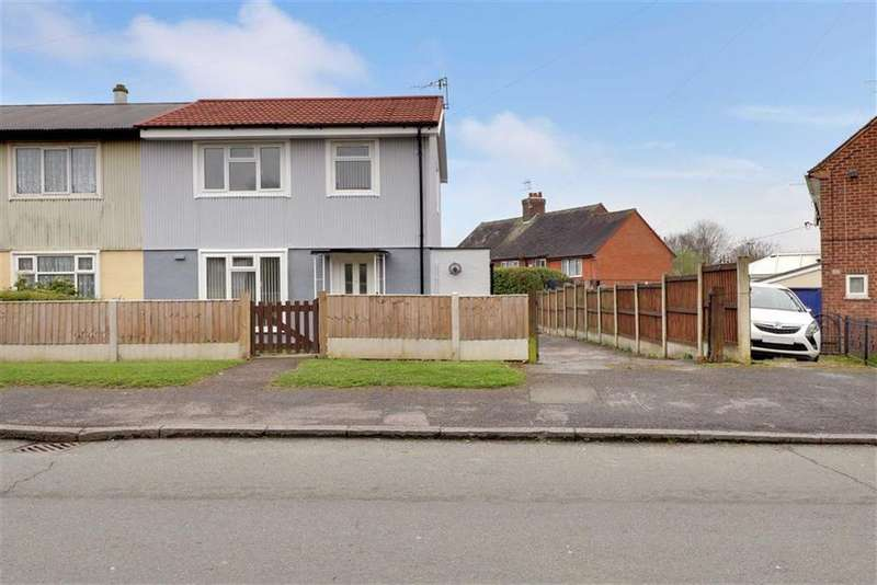 3 Bedrooms Semi Detached House for sale in Cauldon Avenue, Bradwell, Newcastle-under-Lyme