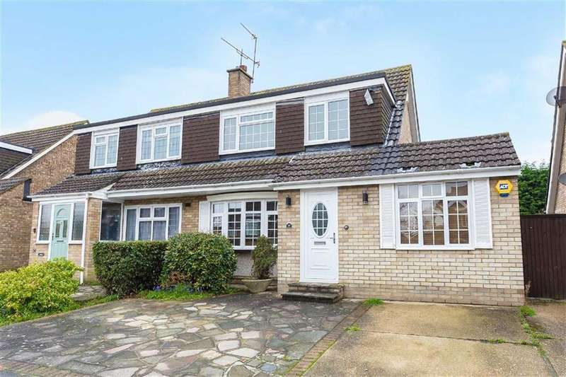 3 Bedrooms Semi Detached House for sale in Wyteleaf Close, Ruislip, Middlesex