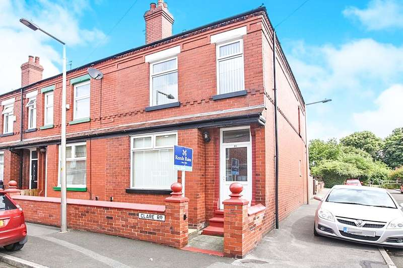 2 Bedrooms Terraced House for rent in Clare Road, Stockport, SK5