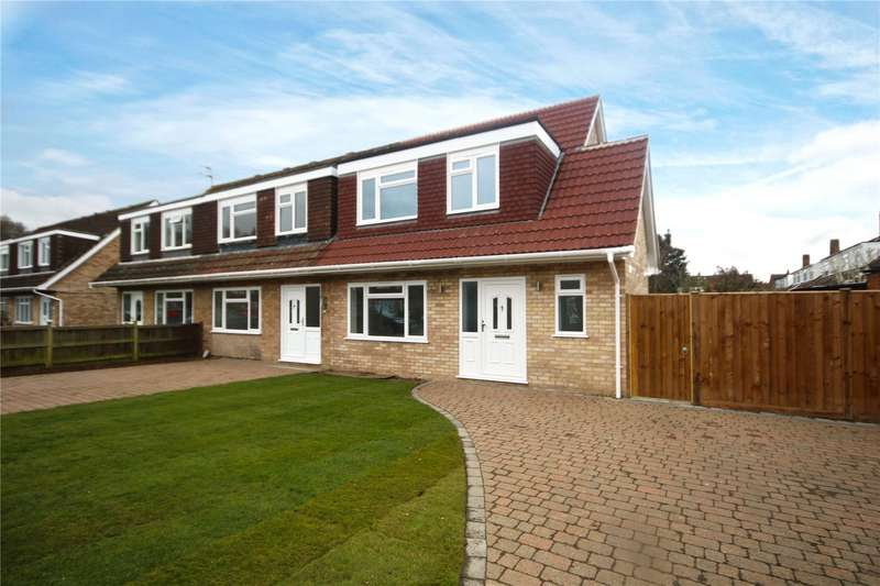 3 Bedrooms End Of Terrace House for sale in Canford Drive, Addlestone, Surrey, KT15