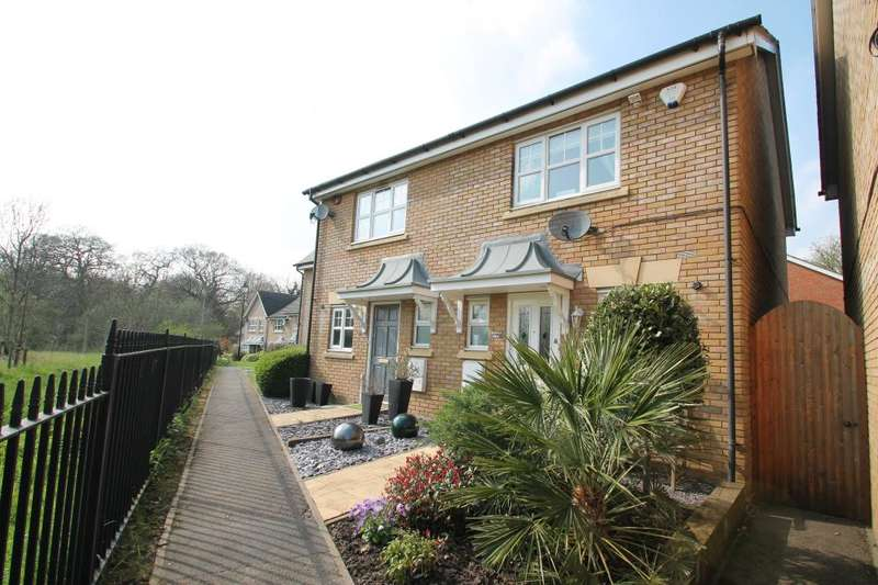 2 Bedrooms Semi Detached House for sale in Elderberry Close,The Avenue, IH6 2AS