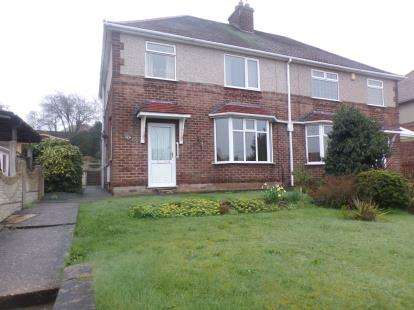 3 Bedrooms Semi Detached House for sale in Sherwood Street, Warsop, Mansfield, Nottinghamshire