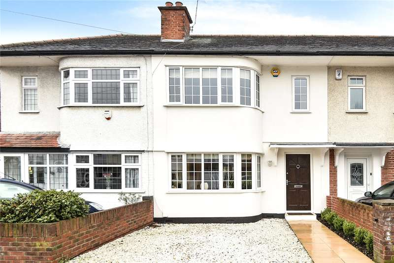 2 Bedrooms Terraced House for sale in Whitby Road, Ruislip Manor, Middlesex, HA4