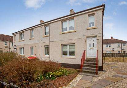 2 Bedrooms Flat for sale in Knowehead Road, Wishaw