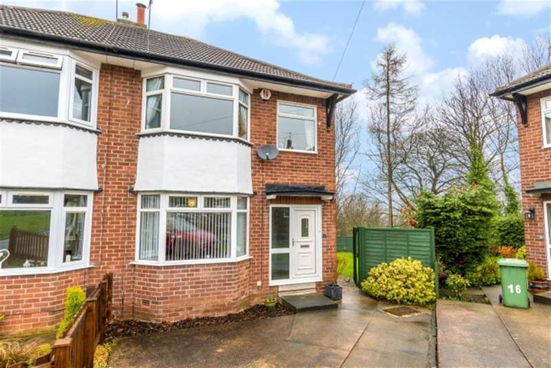3 Bedrooms Semi Detached House for sale in Houghley Close, Bramley, LS13 2DS