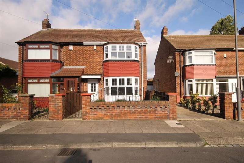 3 Bedrooms Semi Detached House for sale in St. Joans Grove, Foggy Furze, Hartlepool