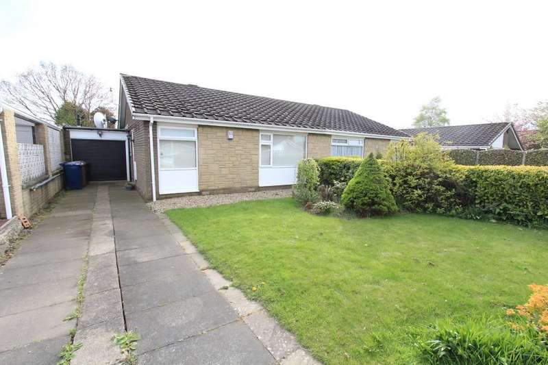 2 Bedrooms Semi Detached Bungalow for sale in Castle Way, Dinnington, NE13