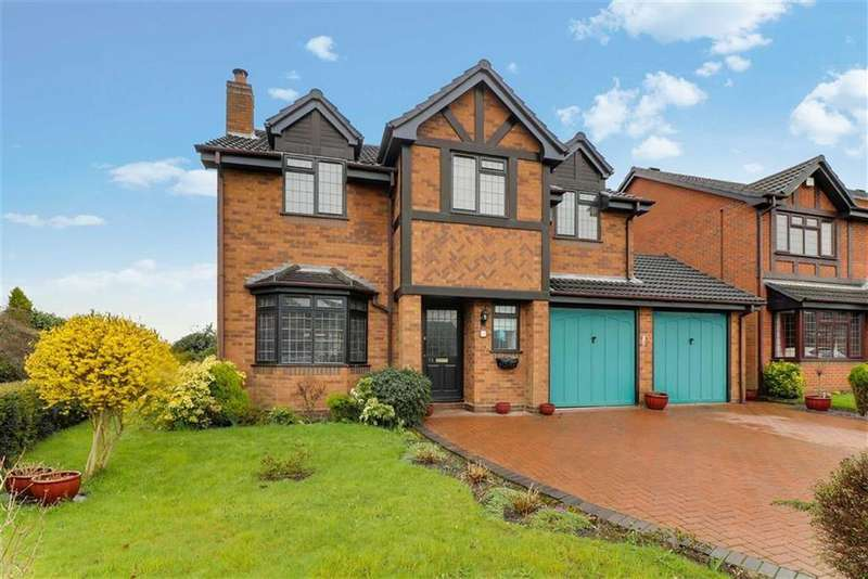 4 Bedrooms Detached House for sale in Spring Meadow, Walsall