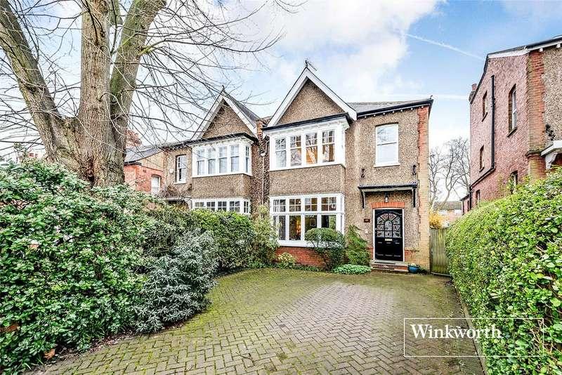4 Bedrooms Semi Detached House for sale in Richmond Road, New Barnet, Herts, EN5