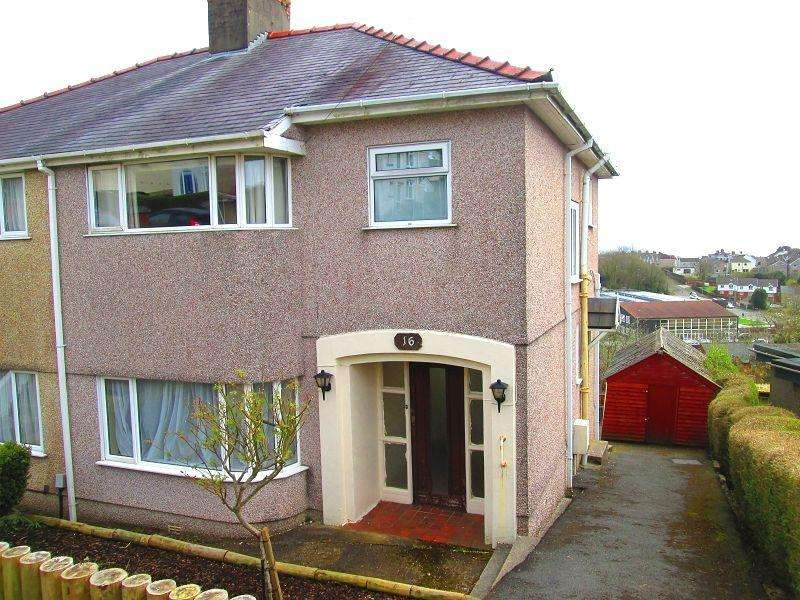 3 Bedrooms Semi Detached House for sale in Lon Mafon , Sketty, Swansea, City And County of Swansea.