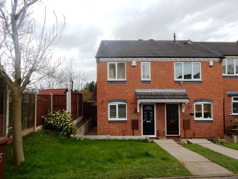 2 Bedrooms Semi Detached House for sale in Hodson Way, Heath Hayes, Cannock WS11